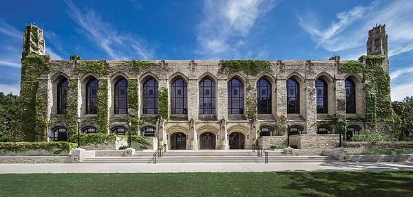 Northwestern University's Deering Library, Evanston